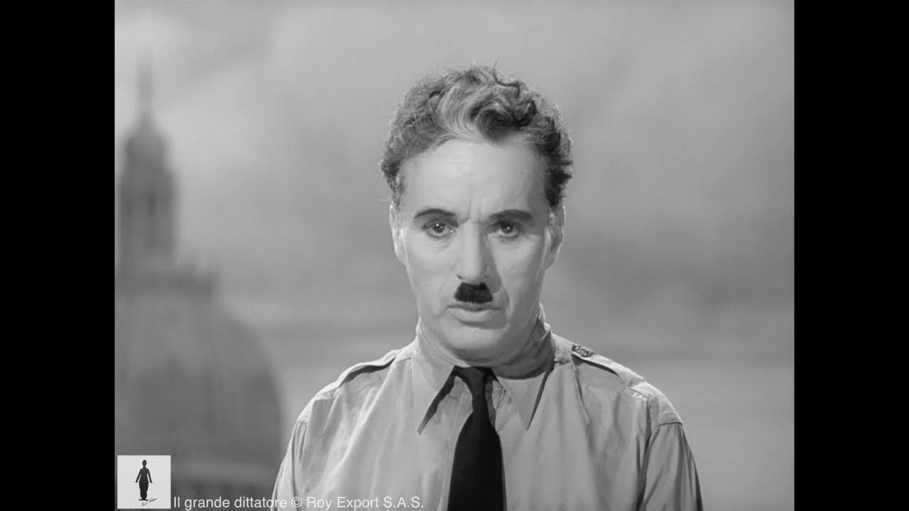 Charlie Chaplin - Il discorso finale del Grande dittatore