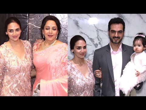 Esha Deol With Husband Bharat Takhtani And Daughter Attended