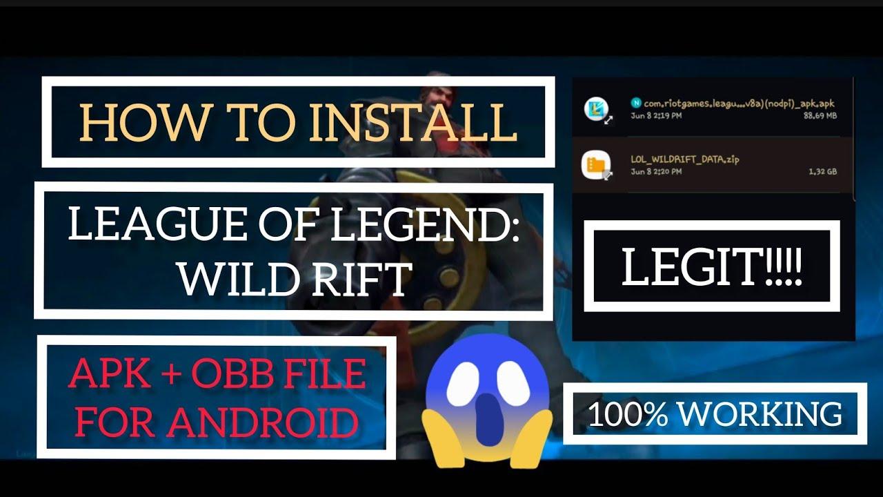 Wild Rift Beta Access How To Install Tutorial 2020 Youtube
