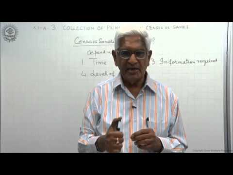 Census and Sample Methods Class XI Economics by S K Agarwala