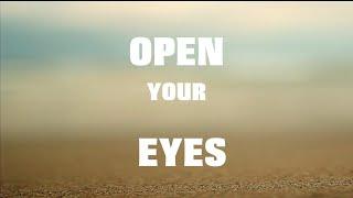 Sanjana Rajnarayan - Open Your Eyes | OFFICIAL LYRIC VIDEO