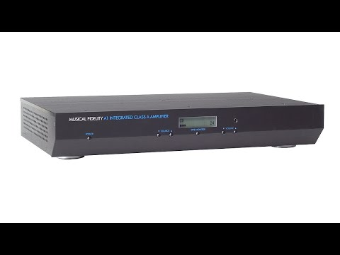 Audio Advisor Review - Musical Fidelity A1 Intergrated Amp