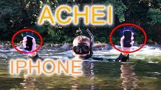 achei um Iphone e muito mais dentro do rio