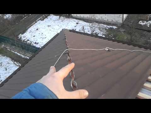 видео: Как крепить конек на металлопрофиле, металлочерепице