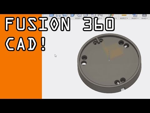 Intro to Fusion 360 CAD Tutorial: Probe Disc! FF36