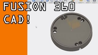fusion 360 basic cad tutorial probe disc fusion friday 36