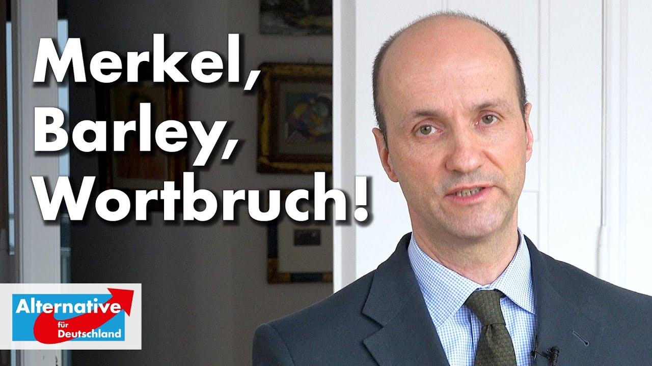 Nicolaus Fest zu Merkel, Barley und dem Wortbruch als politisches Prinzip