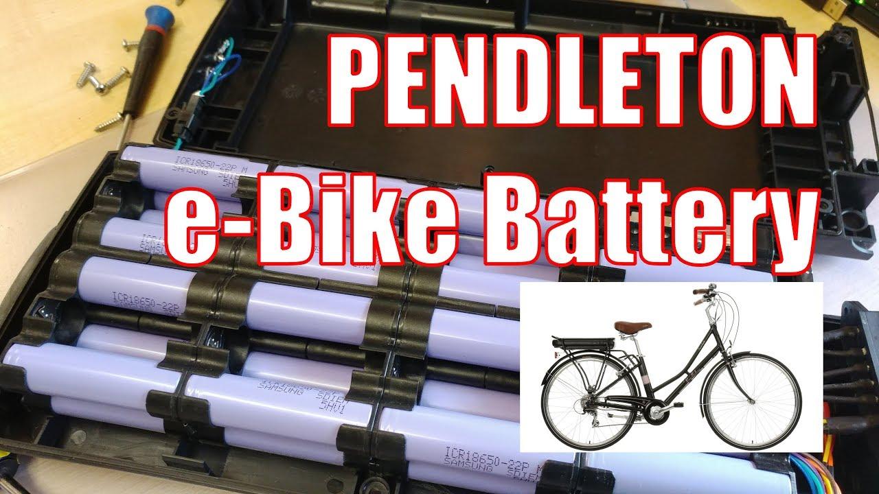09822cc4885 Halfords Pendleton 36V li-ion e-bike battery and BMS summary - YouTube
