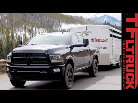 2015 Ram 2500 Cummins take on the grueling Ike Gauntlet towing review