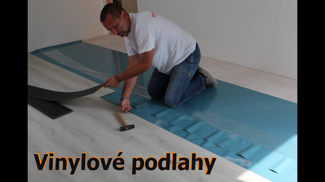 Jak nalepit vinylovou podlahu