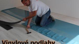Vinylové podlahy Designart Home click 24137, jak je pokládá Karel Smetana