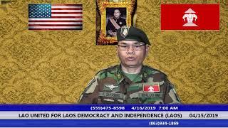 Laonet.Tv Episode 04/16/2019 AM DEMOCRACY LAOS