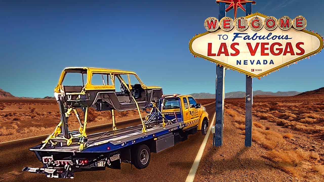 The Corvair Build Moves To Las Vegas! - download from YouTube for free