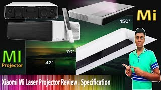Xiaomi Mi Laser Projector Review , Specification - HINDI New 2017