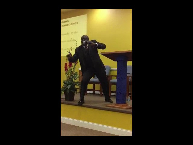 Strong Encouragement in Christ by Dr. Everton Anderson