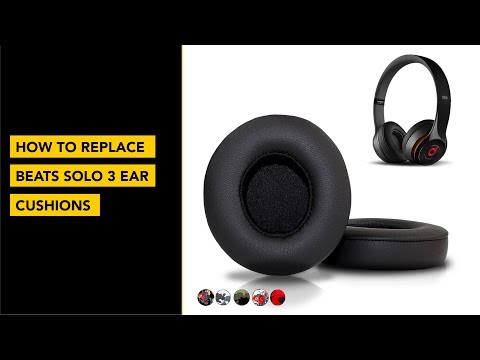 How To Replace Your Beats Solo 3 Ear Cushion