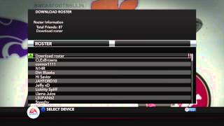 How to get Real Name rosters for NCAA Football 14 (Xbox 360)