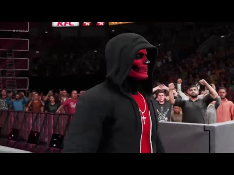 Wwe2k18 icon  vs immortal
