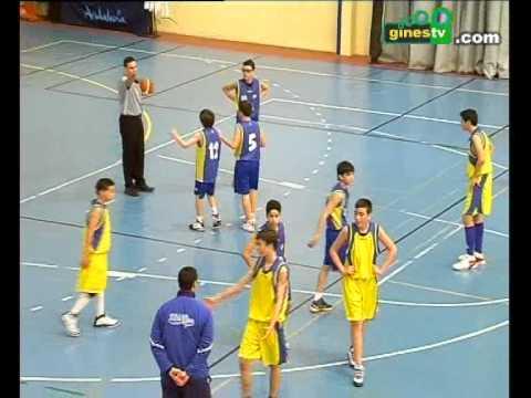 CD Gines infantil de baloncesto - CB Marchena (ida de cuartos de ...