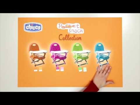 Chicco Pocket Snack Booster Seat - Demonstration | BabySecurity