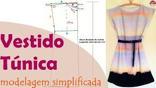 Vestido túnica – modelagem simplificada para iniciantes