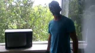 в Припяти выкидываев телевизор из окна