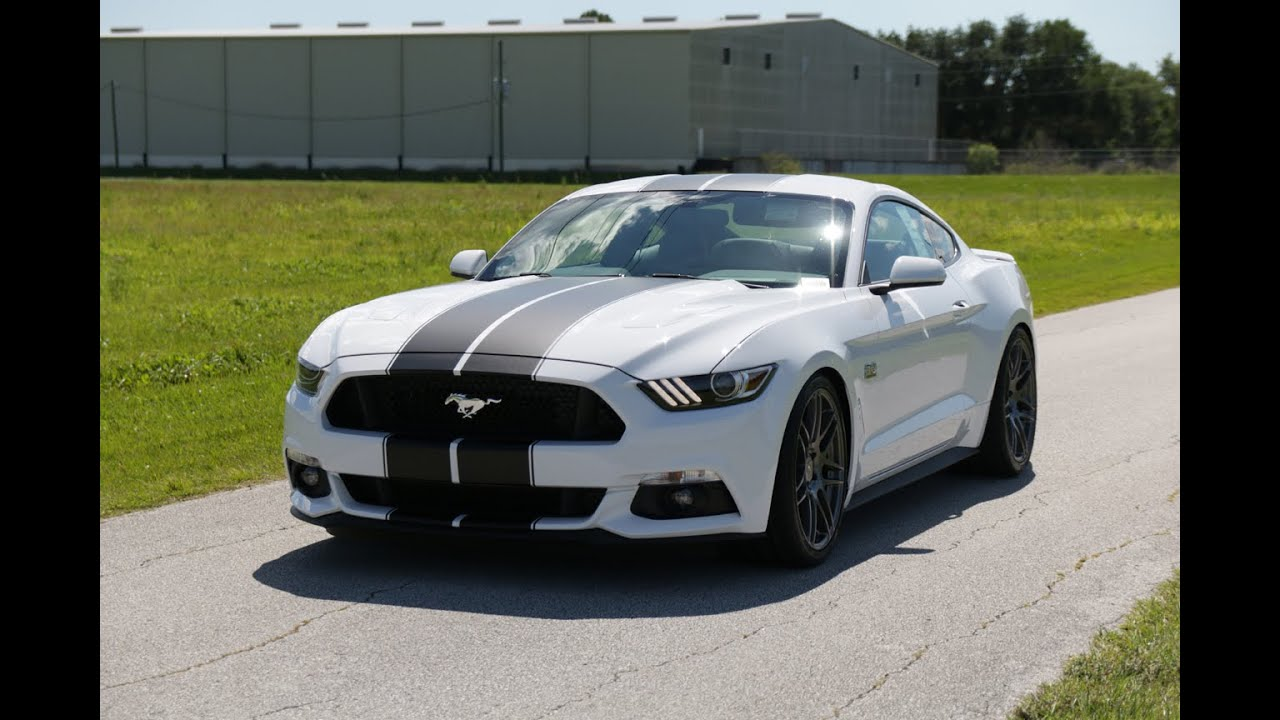 Ford Mustang Roush >> 2016 Mustang GT ROUSH Supercharged - YouTube