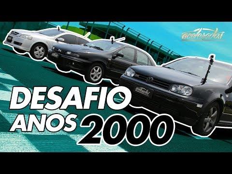FIAT MAREA TURBO X VW GOLF GTI X GM ASTRA GSI - ESPECIAL ESPORTIVOS DOS ANOS 2000 #50   ACELERADOS