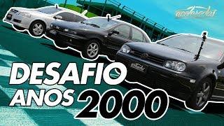 FIAT MAREA TURBO X VW GOLF GTI X GM ASTRA GSI - ESPECIAL ESPORTIVOS DOS ANOS 2000 #50 | ACELERADOS