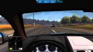 Test Drive Unlimited 2 Beta PC Gameplay on HD4830 Video 2