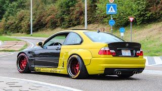 Rocket Bunny BMW M3 E46 | Burnouts, Accelerations, sounds