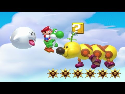 Super Mario Maker - 100 Mario Challenge #144 (Expert Difficulty)