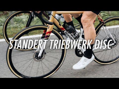 Standert Triebwerk Disc, a modern steel road bike so you can just switch off & ride