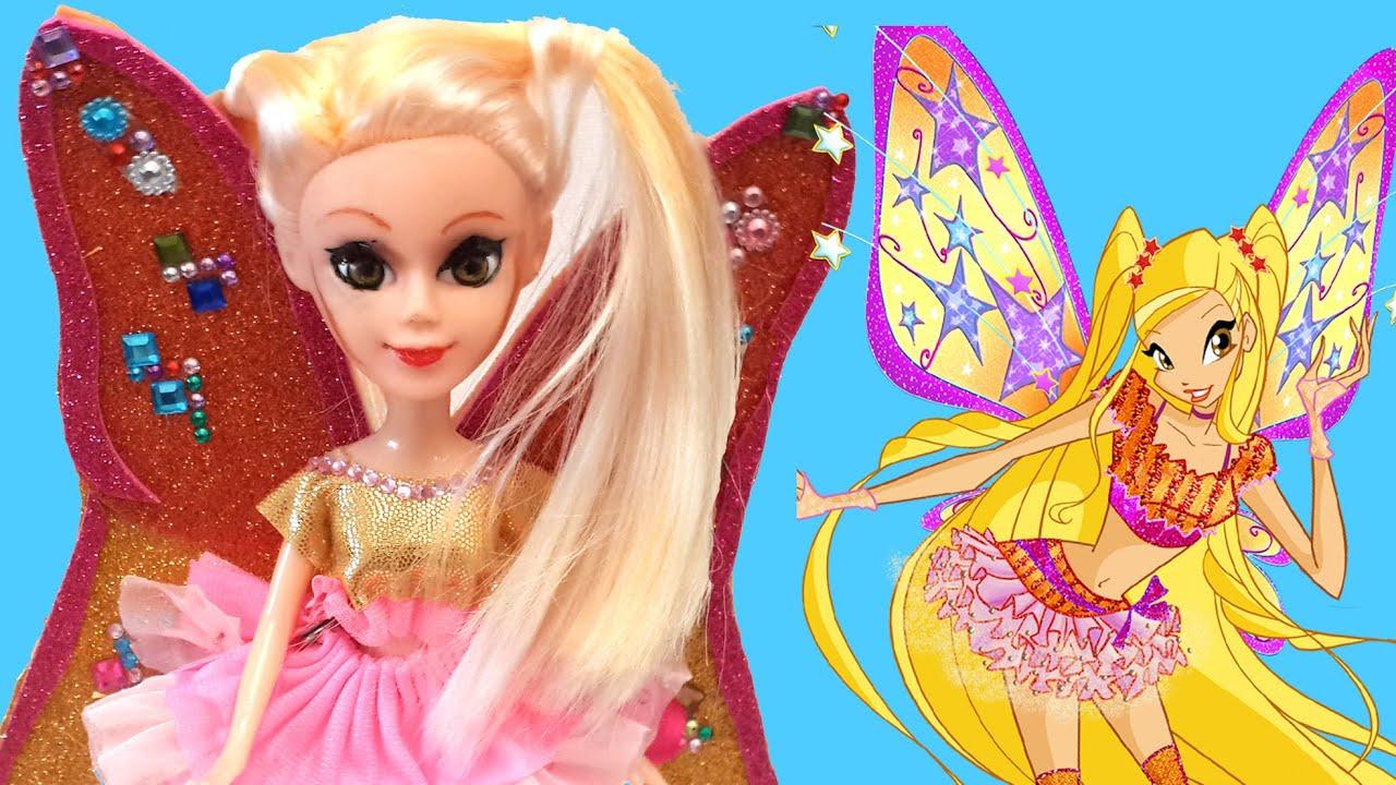 Winx Club Kostüm : winx club stella kost m tasar m oyuncak buti im youtube ~ Frokenaadalensverden.com Haus und Dekorationen