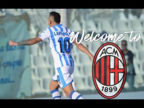 Welcome To Ac Milan - Gianluca Lapadula