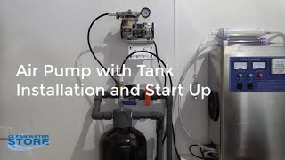 Maxi-Vent Air Pump Compressor Tank for Well Water