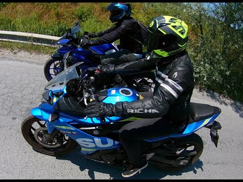 Suzuki GSX-250R ve Yamaha R25 ile Karaburun Turu :)