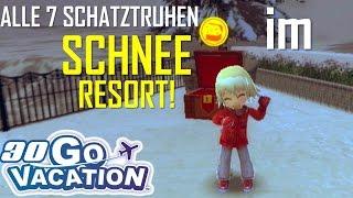 ALLE 7 SCHATZTRUHEN IM SCHNEERESORT! - Wii Go Vacation (Let