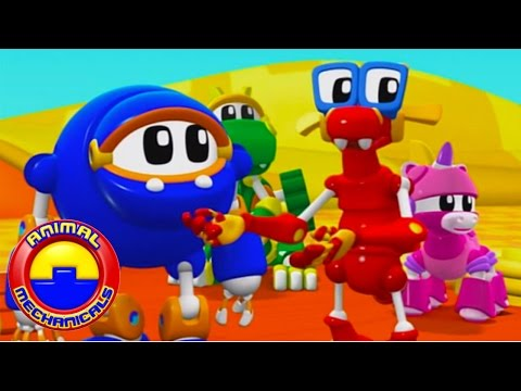 Animal Mechanicals | 1 Hour Special Compilation | CARTOONS FOR KIDS