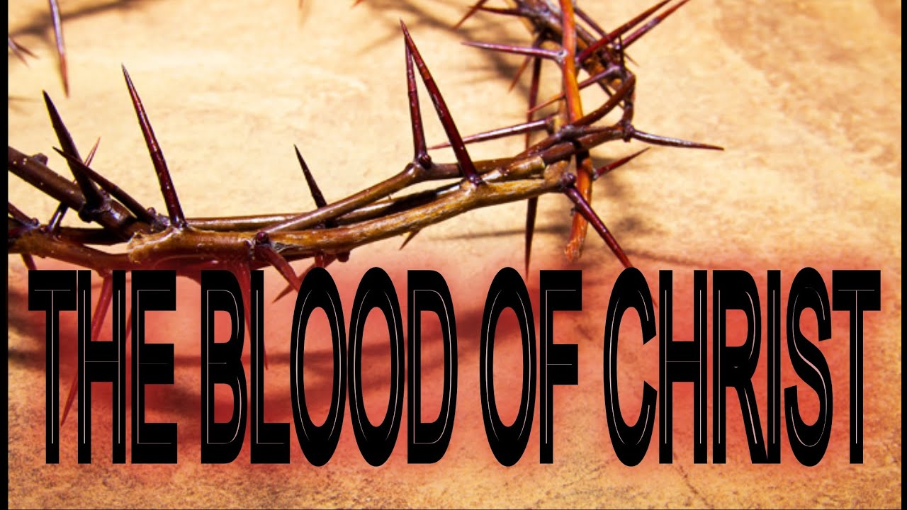 The Blood Of Christ...  Guilt Of Sin... (1 John 1:7/Ephesians 1:7/Hebrews 9:14)