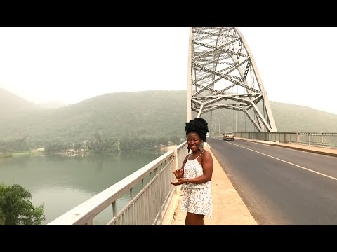 GHANA VLOG #19 || FROM SENCHI TO AKOSOMBO TO VOLTA REGION || ADOMI BRIDGE || ROOTZ YARD || ADEDE
