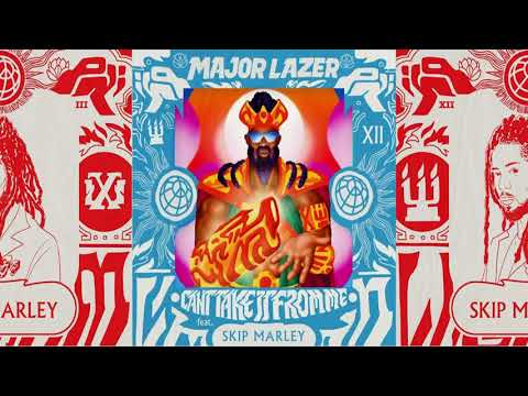 Major Lazer - Can't Take It From Me Feat. Skip Marley [Instrumental][360°][4K]
