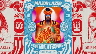 Major Lazer - Can't Take It From Me feat. Skip Marley [Instrumental][360][4K]