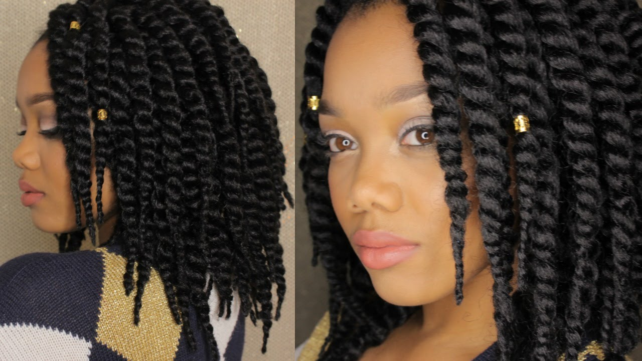 Crochet Box Braids 12 Inch : TUTORIAL How I Crochet My Havana Mambo Twists 12 Inch ? Janet ...