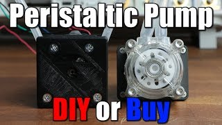 Peristaltic Pump || DIY or Buy