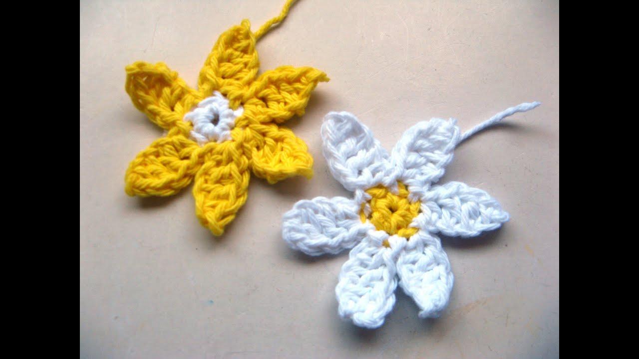 How to crochet a daisy youtube how to crochet a daisy izmirmasajfo