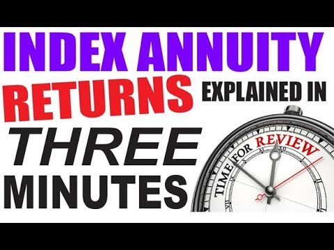 Index Annuity returns explained in 3 minutes