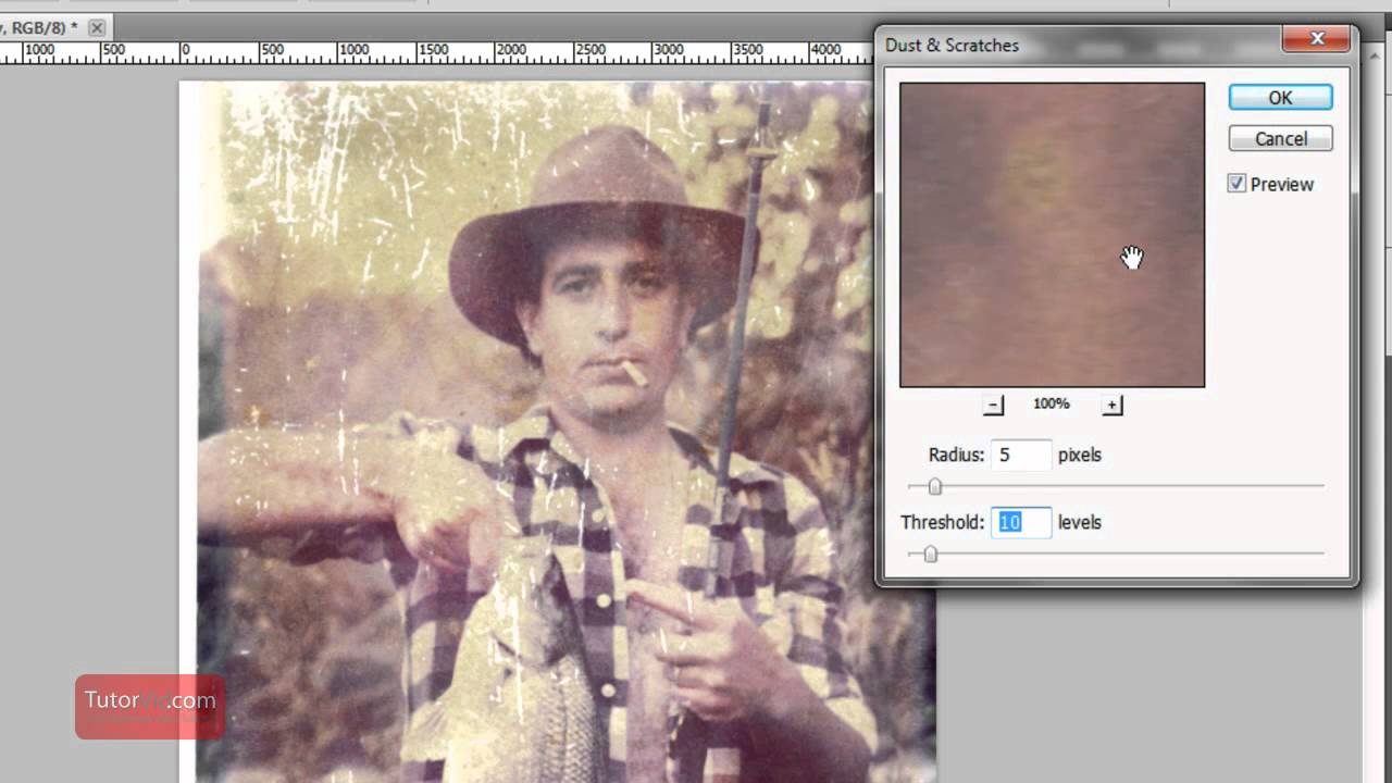 how to fix a blurry photo without photoshop