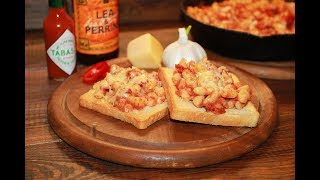 Beans on toast by Jamie Oliver