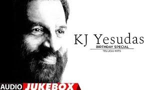 KJ Yesudas Telugu Hit Songs Jukebox | Birthday Special | Telugu Super Hit Songs